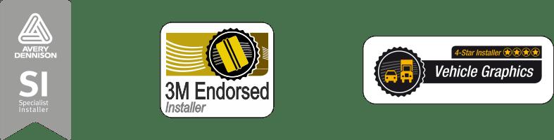 Certyfikowany aplikator 3M, Avery Dennison