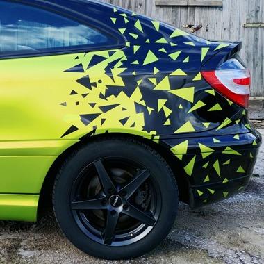 Zmiana koloru samochodu folią - realizacje NAMA Sępólno Krajeńskie