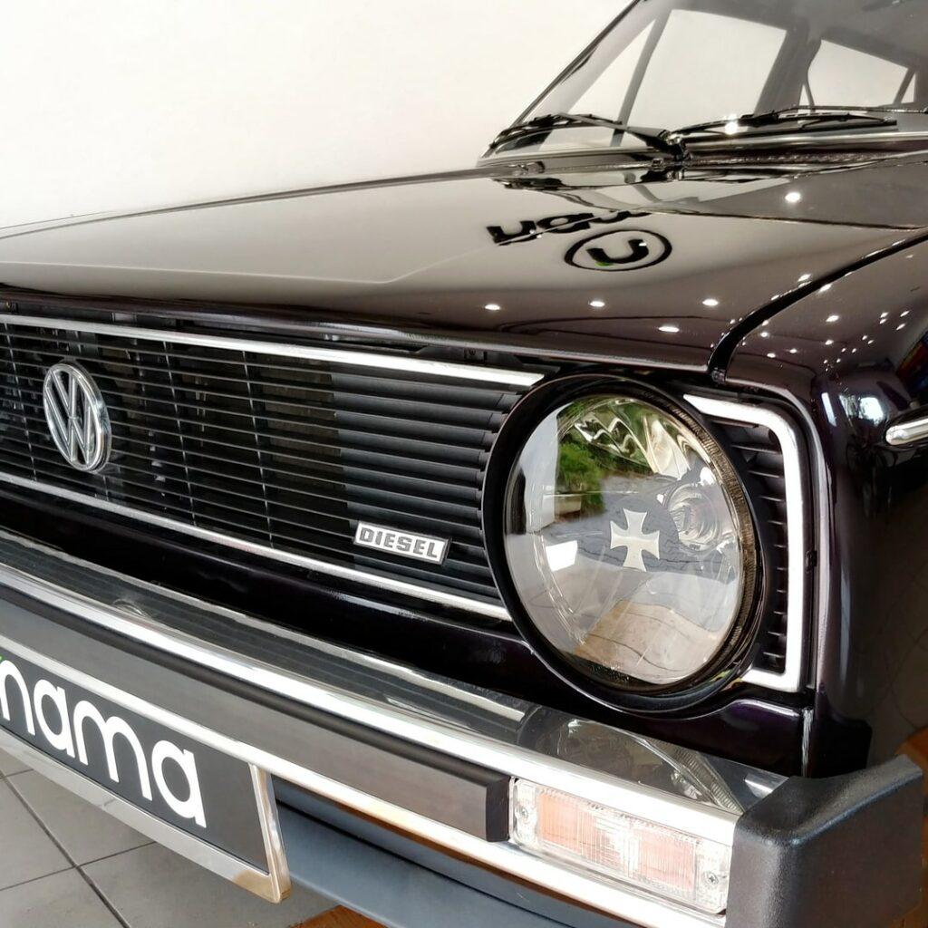 Auto detailing Volkswagen Golf I